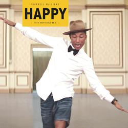 Pharrell Williams - Happy (Gru's Theme from Despicable Me 2)